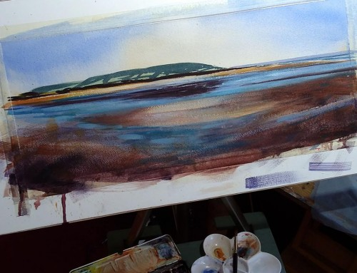 Watercolour Seascapes – 13th Sept 2017